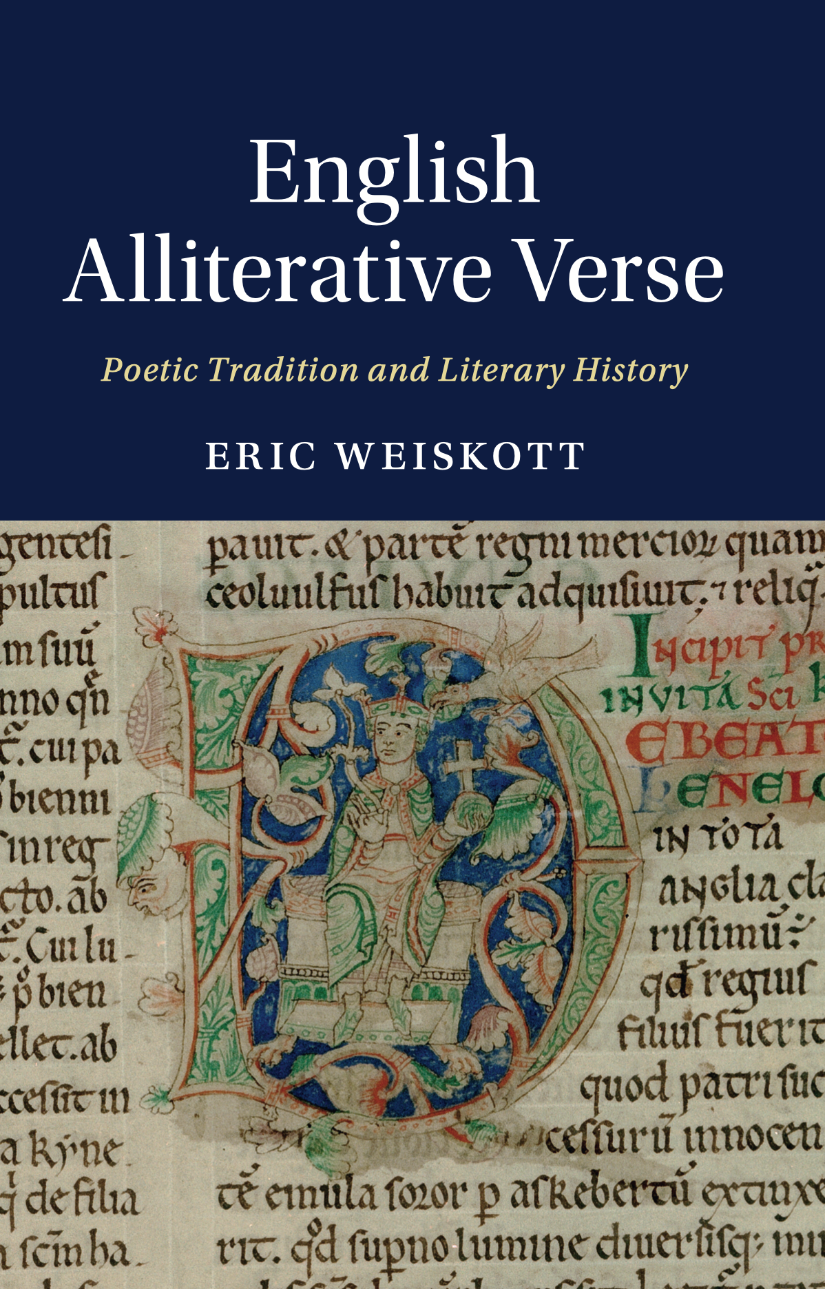 Eric Weiskott, English Alliterative Verse